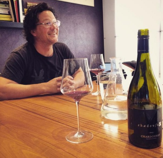 Matt with in office with 2013 Chardy