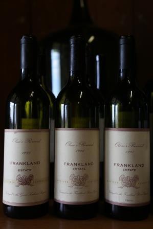 Old bottles olmo frankland