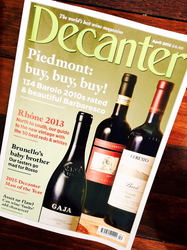 Decanter cover BUY PIEDMONT