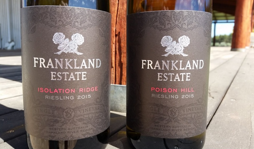 2015 New label poison isolation riesling