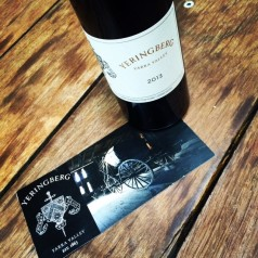 yeringberg cab 2013 bottle shot stylised