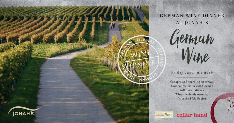 German Wine Dinner July 2016 Facebook
